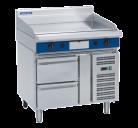 Blue Seal Evolution Series GP516-RB - 900mm Gas Griddle Refrigerated Base