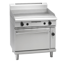 Waldorf 800 Series GPL8910GEC - 900mm Gas Griddle Electric Convection Oven Range Low Back Version