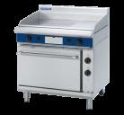 Blue Seal Evolution Series GPE506 - 900mm Gas Griddle Electric Static Oven Range