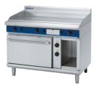 Blue Seal Evolution Series GPE508 - 1200mm Gas Griddle Electric Static Oven Range