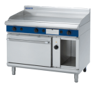 Blue Seal Evolution Series GPE58 - 1200mm Gas Griddle Electric Convection Oven Range