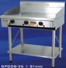 Goldstein GPGDB-36TK (GPGDB36TK) 910mm Gas Griddle, Teppanyaki Surround