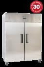 Exquisite GSC1410H Two Solid Doors Upright Storage Refrigerators