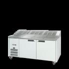 Williams HJ2PCBA Jade Refrigerated Pizza Preparation Counter