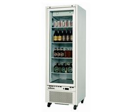 Williams HQS1GDCB Quartz Star Single Glass Door Display Refrigerator