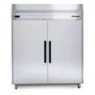 Williams HS2SDSS Two Solid Door Sapphire Stainless Steel Upright Refrigerator