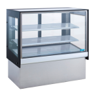 Williams HTCF18 Topaz Cake Display - 1800Mm Two Tier (Plus Base) Free Standing Refrigerated Cake Display