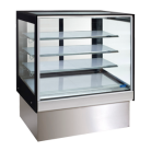 Williams HTCFH9 Topaz Cake Display - 900Mm Three Tier (Plus Base) Free Standing Refrigerated Cake Display