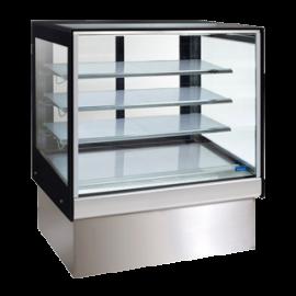 Williams HTCFH9 Topaz Cake Display - 900Mm Three Tier (Plus Base) Free Standing Refrigerated Cake Display