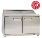 Exquisite ICC550H Two Doors Food Preparation Refrigerators