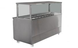 Koldtech KT.SQSM.1330 (KTSQSM1330) Square Gantry Sandwich Preparation Cabinet