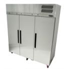 Williams LPS3SDSS Pearl Star Three Solid Door Stainless Steel Freezer