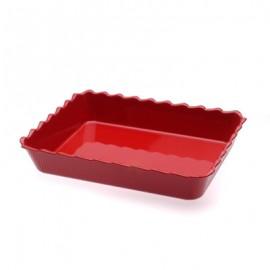 MTA Scallop Bowl -  310 x 250 x 75mm - Red