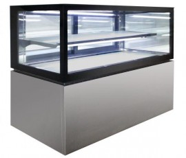 Anvil Aire NDSJ2750 Low Line Jewellery Display 2 Tier 1500mm – 325lt