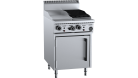 B & S (B+S) OV-GRP3-CBR3 Black Oven with 300mm Grill Plate & 300mm Char Broiler
