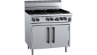 B & S (B+S) OV-SB6 Black Six Burner Oven