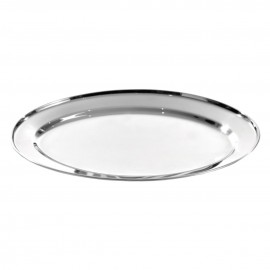 500mm Stainless Steel Oval Platter
