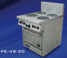 Goldstein PE-24G-20 (PE24G20) Electric Range, 610mm Griddle Electric Oven