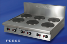 Goldstein PEB-6S (PEB6S) 6x Solid Plate Cooktop