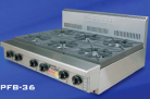 Goldstein PFB-12G-4 (PFB12G4) 4 Burner Gas Cooktop, 310mm Plate
