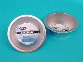 Daily Bake 12cm Round Tin Plated Pie Dish - 3cm deep
