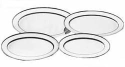600mm Stainless Steel Oval Platter