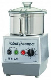 Robot Coupe R5VV - R5 V.V.A Table Top Cutter Mixer 5.5 Litre Bowl with Variable Speed