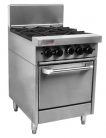 Trueheat RC Series RCR6-4-NG - Four Burner NG Oven Range