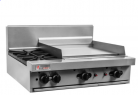 Trueheat RC Series RCT9-6-NG - 6 Open Top Burner Cooktop NG