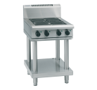 Waldorf 800 Series RNL8400E-LS - 600mm Electric Cooktop Low Back Version Leg Stand