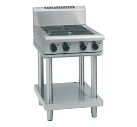 Waldorf 800 Series RNL8403E-LS - 600mm Electric Cooktop Low Back Version Leg Stand