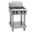 Waldorf 800 Series RNL8400G-LS - 600mm Gas Cooktop Low Back Version - Leg Stand