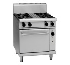Waldorf 800 Series RN8513G - 750mm Gas Range Static Oven