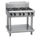 Waldorf 800 Series RNL8600G-LS - 900mm Gas Cooktop Low Back Version - Leg Stand