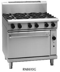 Waldorf RN8610G six burner gas range