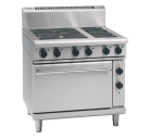 Waldorf 800 Series RN8613E - 900mm Electric Range Static Oven