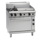 Waldorf 800 Series RNL8616GE - 900mm Gas Range Electric Static Oven Low Back Version