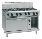 Waldorf 800 Series RNL8813G - 1200mm Gas Range Static Oven Low Back Version