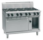 Waldorf 800 Series RNL8816GEC - 1200mm Gas Range Electric Convection Oven Low Back Version