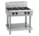Waldorf 800 Series RNL8900G-LS - 900mm Gas Cooktop Low Back Version Leg Stand