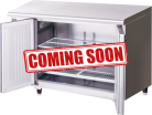 Hoshizaki FTC-120SNA-ML Two Door Pillarless Stainless Steel Counter Freezer - 228L