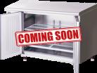Hoshizaki RTC-120SNA-ML Two Door Pillarless Stainless Steel Counter Refrigerator - 228L