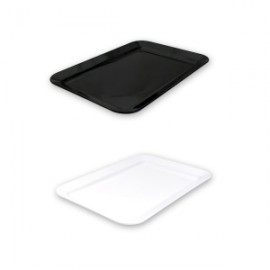 White Melamine Rectangular Platter 450mmx300mm