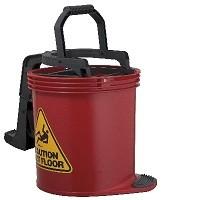 DuraClean Mark II Roller Wringer Bucket 15 Litre - Red
