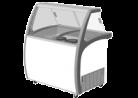 Exquisite SD235S2 235L Ice Cream Freezer with Canopy