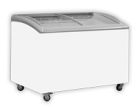 Exquisite SD361 361L Curved Glass Display Chest Freezer