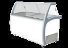 Exquisite SD575S2 575L Ice Cream Freezer with Canopy