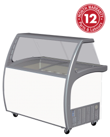 Exquisite SD415S2 Nine Tubs Ice Cream Scooping Freezers