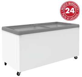 Exquisite SD650 Flat Glass Display Chest Freezers