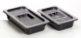 Clear Cover Lid -  Polycarbonate - 1/4 size